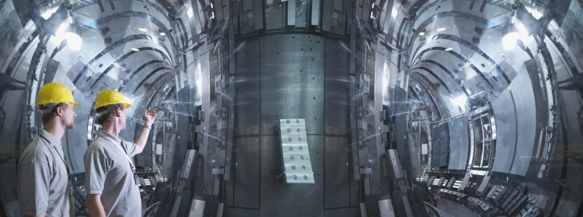 Bertin Instruments - Scientists Working In A Fusion Reactor